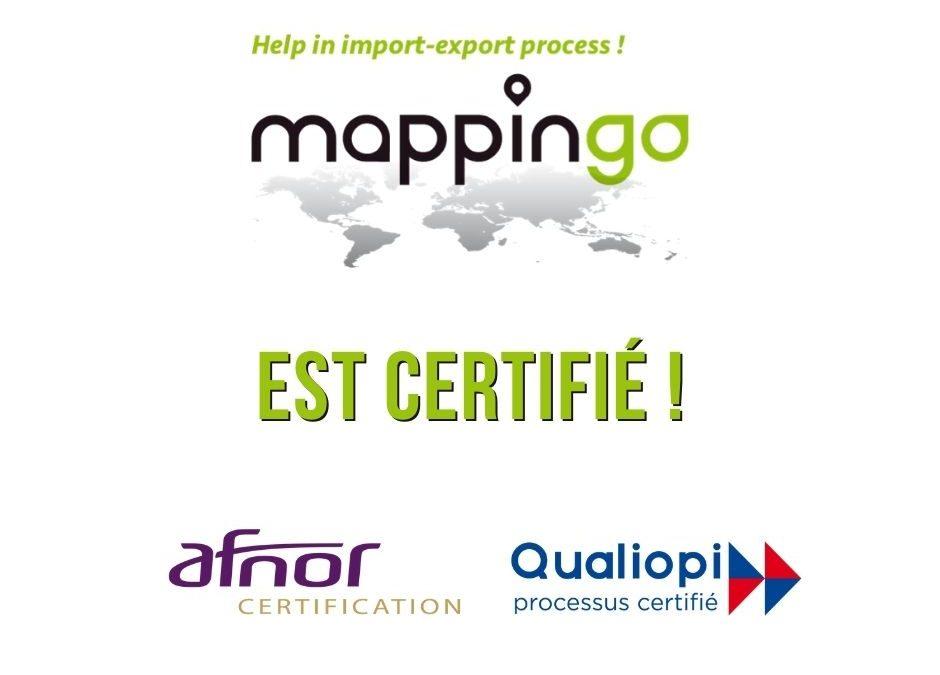 MAPPINGO a obtenu la certification QUALIOPI !